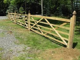 wooden fence panels decorative