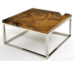 Contemporary Rustic Wood Furniture Live Edge Tables Natural Wood