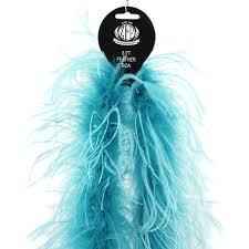 Marabou-Ostrich Boas Multi Color - Dark Aqua/Lt Turquoise
