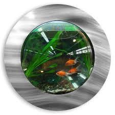 helfer 1 gallon fish bubble deluxe wall