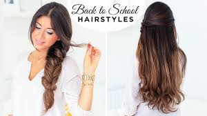 Luxy Hair Style Back To School Hairstyles Ft Fluffy Braid Luxy Hair Youtube 2763 by wearticles.com