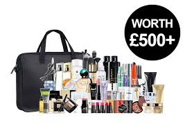 a plete make up collection including brushes and heaps of bestsellers each from fragrance skincare toiletries plus a huge 75 sle pack