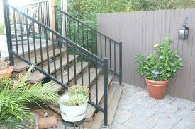 metal outdoor railings for steps awesome superior stair railing kits regarding 11