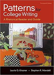 Patterns For College Writing Unique Amazon Patterns For College Writing A Rhetorical Reader And