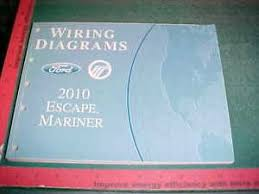 2010 ford escape mercury mariner wiring diagrams manual xlnt image is loading 2010 ford escape mercury mariner wiring diagrams manual