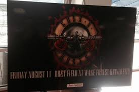 Guns N Roses Winston Salem Seating Chart Major Concert Coming To Wake Forests Bb T Field Triad