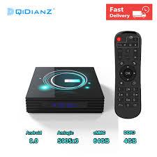 Presale Android 9.0 A95XF3Slim TV Box 4GB 64GB 32GB Amlogic S905X3 8K 60fps  Wifi Netflix Media Player pk H96 X96 mini max|Set-top Boxes