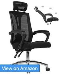 Office recliner chairs Australia Hbada High Back Office Mesh Recliner Chair Review Top 15 Best Office Chairs Compared Best Reclining Office Chairs With Footrests june 2018 Reviews