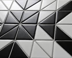 black and white tile floor patterns.  Black TR2MWBDD02H Triangle Porcelain Floor Tiles Intended Black And White Tile Floor Patterns R