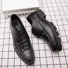 Prelesty Crocodile <b>Men Business Dress</b> Formal Shoes Comfortable ...