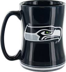 Small Picture Amazoncom Seattle Seahawks Sculpted Coffee Mug Kitchen Dining