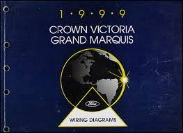 ford crown victoria mercury grand marquis wiring diagram manual