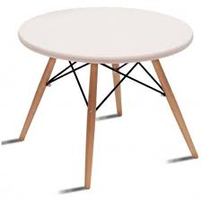 side table 60cm round eams table style msa122003