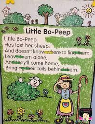 Nursery Rhymes Charts And Tools Nursery Rhymes Preschool