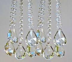 9 of 12 xl chandelier drops cut glass crystals droplets sq oval antique spec light parts