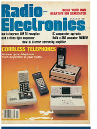 radio electronics magazine 07 1981 gramophone record radio electronics magazine 07 1981 gramophone record compact cassette