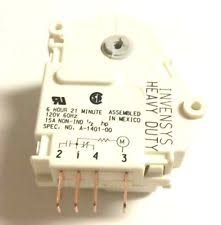 haier refrigerator zer defrost timers new oem original haier defrost timer rf 7400 10 hta18hnaww htp18haaww hte21haaww