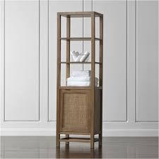 Crate And Barrel Bathroom Shelves