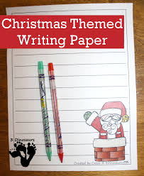 fun christmas themed writing paper dinosaurs  christmas themed writing paper for kids 6 different christmas themes to pick from