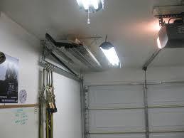 image of garage door fan design