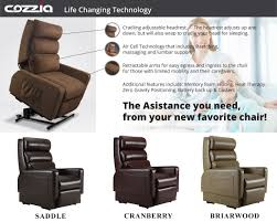 cozzia mc 520 lift chair recliner