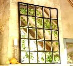 multi panel wall mirror pane beveled large