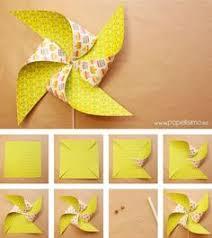 cómo hacer molinillo de papel paso a paso aprender manualidades es facilisimo paper pinwheels