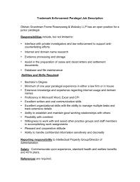 Secretary Job Description Resume resume for paralegal best paralegal resume example livecareer 77