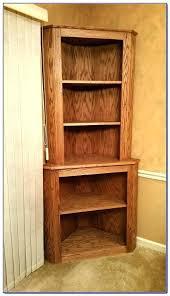 corner shelf wall mount mounted unit in dark walnut veneer ikea oak shelves