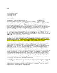 Sample Letter Of Intent Medical School Letter Of Intent Sample For Graduate School Admission 12