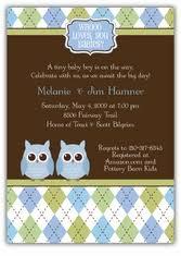 Baby Shower Decorations Twins Boy Girl Owl Baby Shower Invites Owl Baby Shower Invitations For Boy