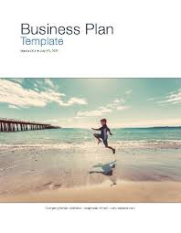 Business Plan Template Apple Iwork Pages Numbers