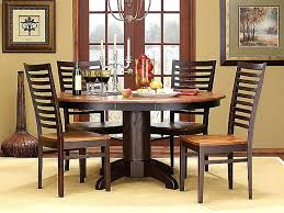 wooden round dining tables mango