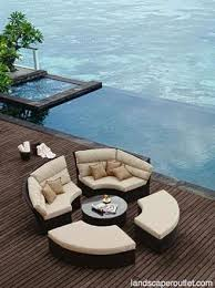 bishan outdoor sectional daybed collection architectural digest furniture