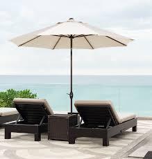 outdoor 9 patio umbrella with auto tilt and crank 47 t