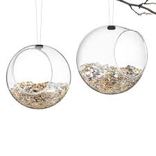 glass bird feeders for