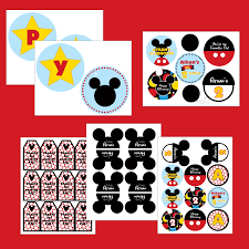 Mickey Mouse Party Printables Free 10 Best Photos Of Mickey Mouse Clubhouse Party Printables Free