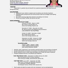 2018 Resume Templates Good Sample Resumes For Jobs First Job Resume