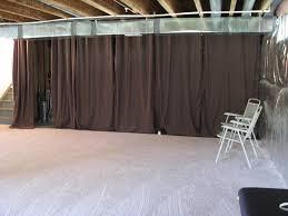 best painting unfinished basement walls