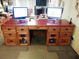 built in office desk plans