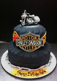 Harley Davidson Cake Decorations Shaped Cakes