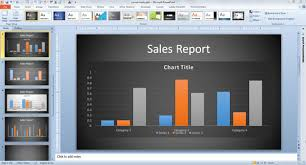 innovative business graph ideas in powerpoint chart template powerpoint