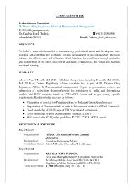 Regulatory Affairs Resume Free Resume Templates 2018