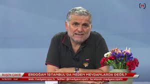 Ruşen Çakır yorumluyor: Erdoğan İstanbul'da neden meydanlarda değil? -  YouTube