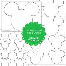 mickey head template printable 125 best mickey minnie b day ideas images on pinterest birthdays
