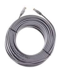 Интернет кабель LAN <b>Патч корд UTP</b> 5e 30 метров серый ...