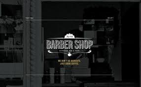 Barber Shop Website The Old Barber Shop Featured On Very Nice Sites Best Web Design