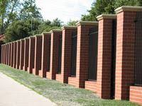Small Picture Catchy Collections of Brick Fence Designs Brick Fencing Melbourne