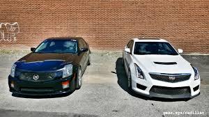 2016 Cadillac ATS-V vs. 2004 Cadillac CTS-V Showdown: Generation ...