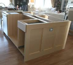 sophisticated kitchen island plans diy from cabinets build your own